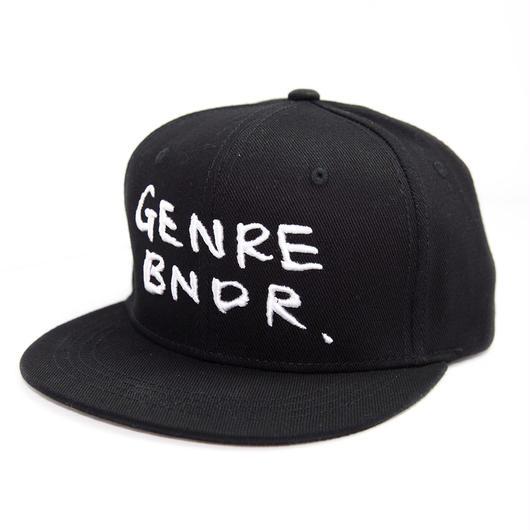 GENRE BNDR SNAPBACK  - BLK-WH