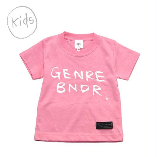 子供服 LIMITED LIL GENRE BNDR T-shirt / 6.2oz PNK - LILPNK27001WH