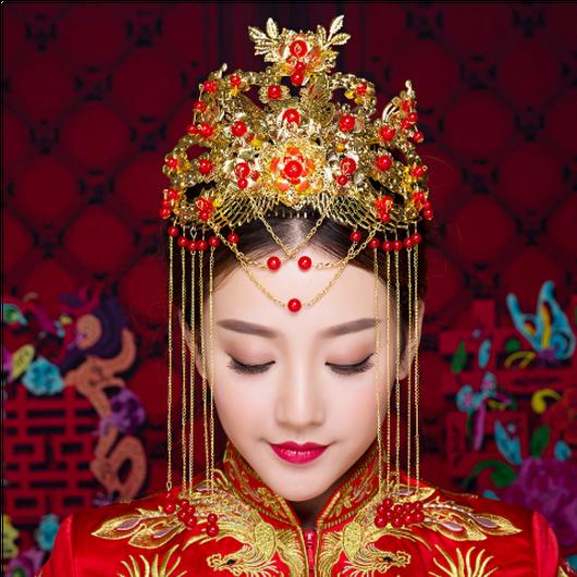 V8S-5452 中国花嫁ティアラ<GLD>