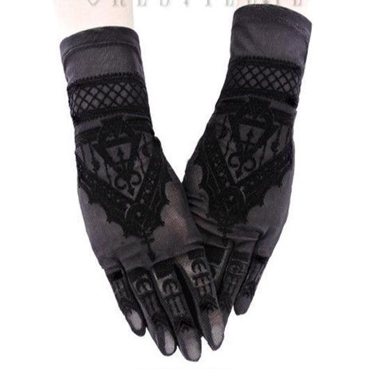 RE-469 Henna Gloves<BLK>