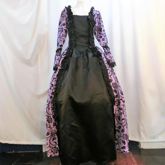 VD-1105 ヴィクトリアン gothic ドレス<PUR/M>