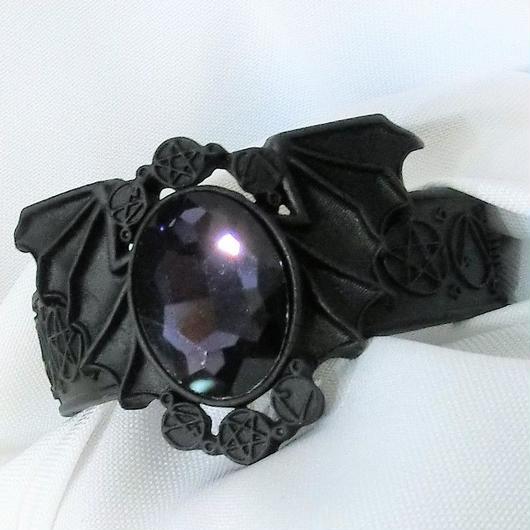 RE-5420 BAT BLACK BRACELET<BLK>
