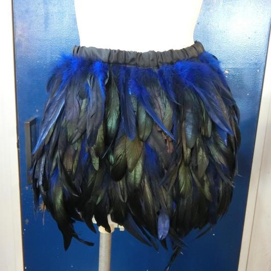 HRA-PT17001  フェザーミニスカート <BLU>