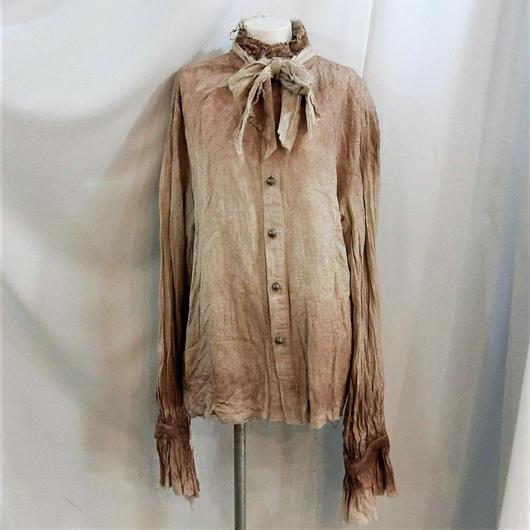OOS-5763 メンズヴィンテージグランジシャツ<WHT/XL>
