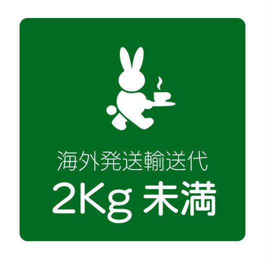 海外発送輸送代(2kg未満)