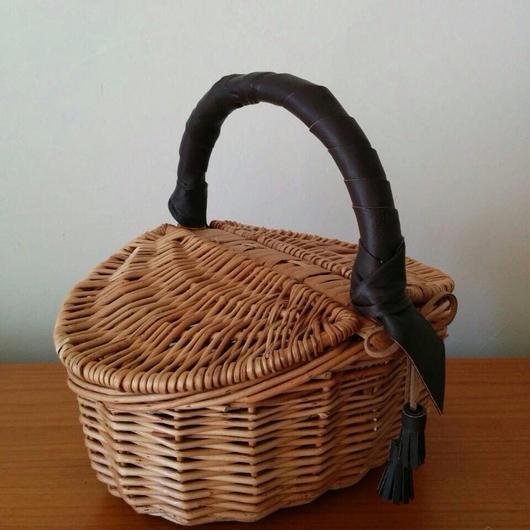 小さめピクニックかごバッグ