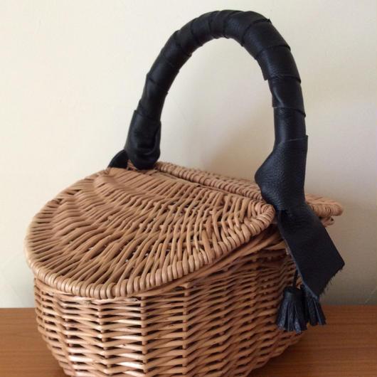 ピクニックかごバッグ