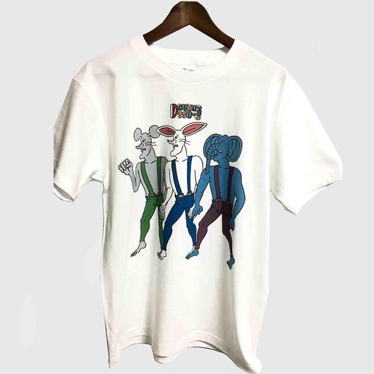 どうぶつーズ壁画風Tシャツ