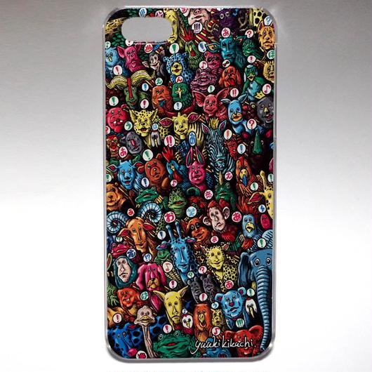 iPhone5/5s/SEケース どうぶつ