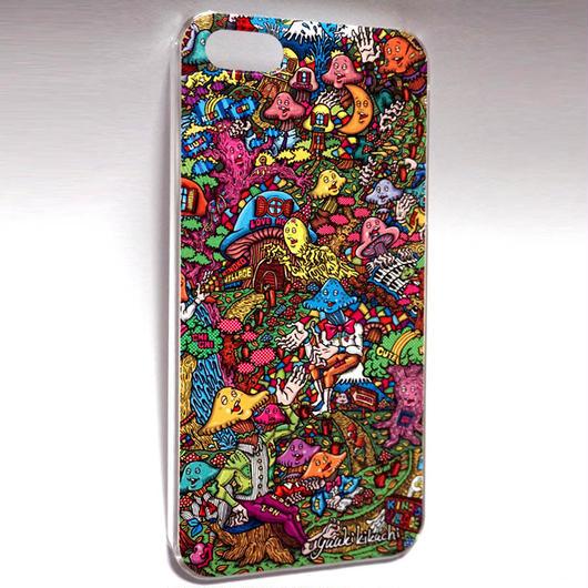 iPhone5/5s/SEケース きのこ村
