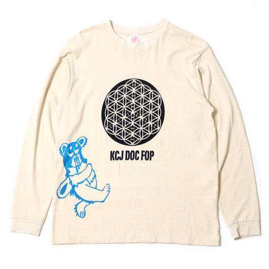 "L/S HEMP COTTON TEE ""F.O.P"""