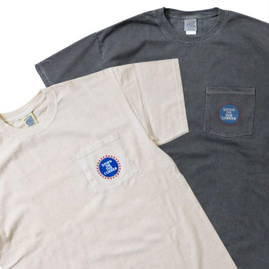 "S/S POCKET TEE ""STARS&CIRCLE"""