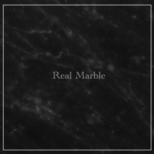 『REAL MARBLE』  black