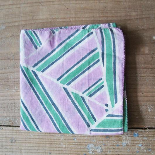 stripe triangle柄バンダナ