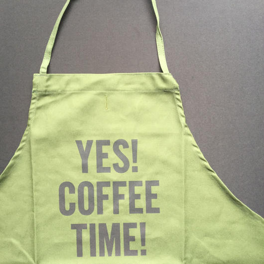 "🔴[新色] DRESSSEN DR(GRN)4 ""YES! COFFEE TIME!""APRON  2018年 9月29日 新発売!。"