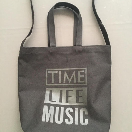 "DRESSSEN  TWO WAY BAG DBSHC2 "" TIME LIFE MUSIC""BLACK COLOR ⭕️2018年4月新発売!"