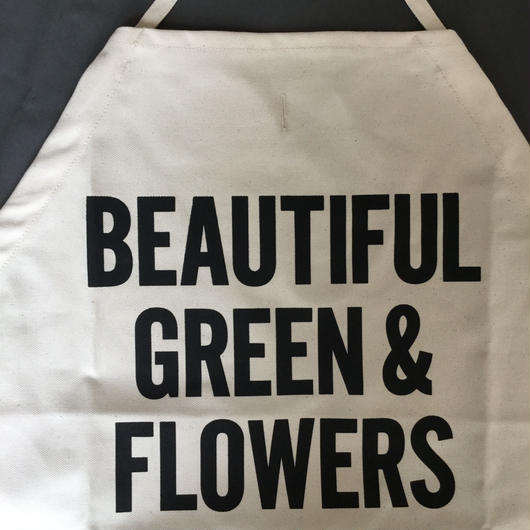 【新型】DRESSSEN  DS8  D→SLIDE  APRON  BEAUTIFUL GREEN AND FLOWERS
