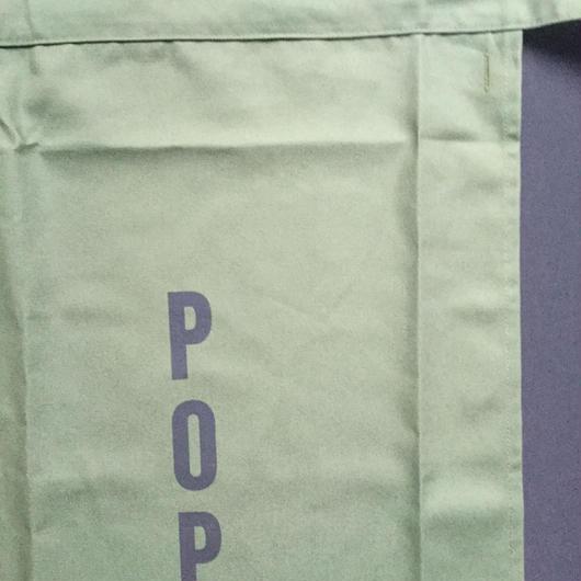 """[新色]DRESSSEN  lower wall long LWL(G)3 """"POP""""APRON GREENCOLOR ⭕️こちらの商品はオンラインストア限定発売です。"""