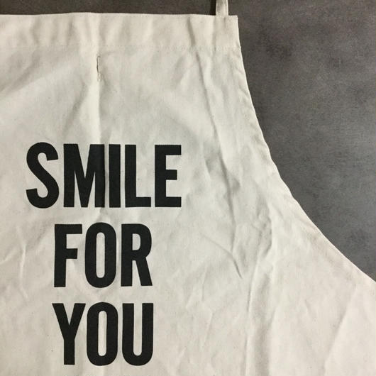 DRESSSEN ADULT APRON #43 SMILE FOR YOU