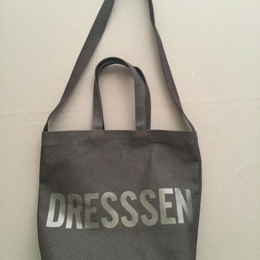"DRESSSEN  TWO WAY BAG DBSHC4 "" DRESSSEN    ""BLACK COLOR ⭕️2018年4月新発売!"