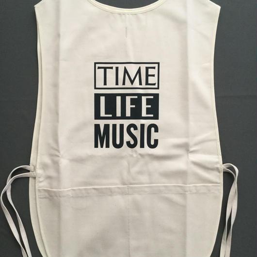 "DRESSSEN  F&B APRON FB4  ""TIME LIFE MUSIC""  ⭕️2018年4月新発売"
