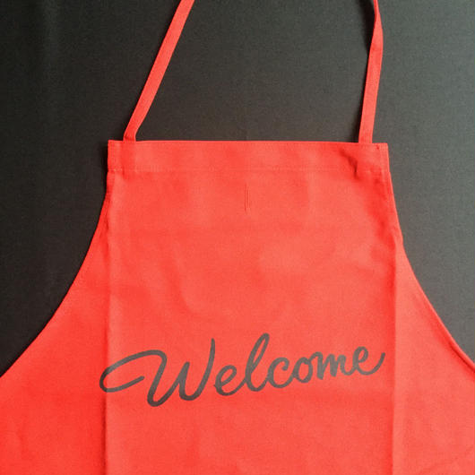 "🔴[新色] DRESSSEN DR(RED) 8 ""welcome"" APRON  2018年 9月29日 新発売!"