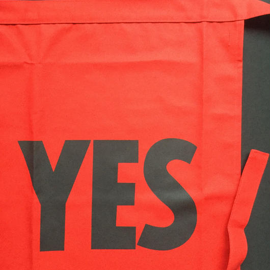 "[新色]DRESSSEN  lower wall long LWLB1 "" YES"" APRON RED COLOR ⭕️2018年9月28日新発売"