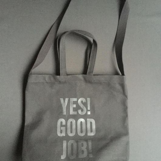 "⭕️[新発売]DRESSSEN  TWO WAY BAG DBSHC6 ""YES! GOOD JOB!""    ""BLACK COLOR  ※公式オンラインストア限定販売です。"