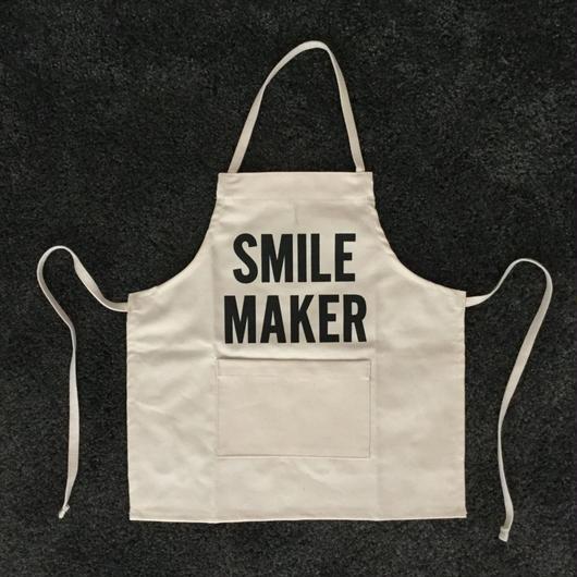DRESSSEN BKD BABY KIDS APRON  SMILE MAKER(ベイビーキッズエプロンです。)🔴2019年4月再入荷します。今しばらくお待ちくださいませ。