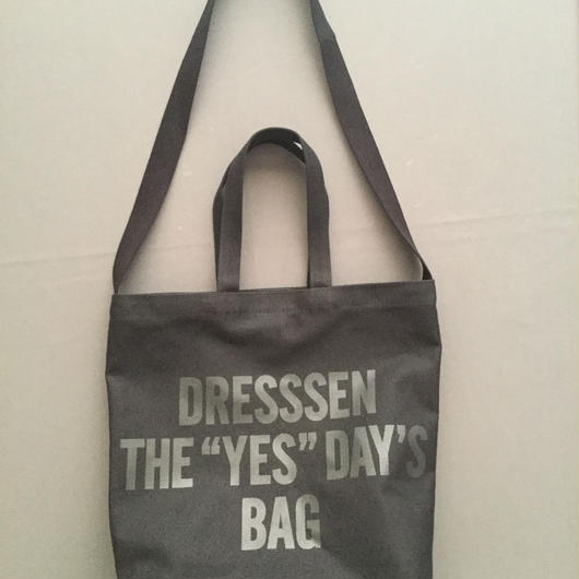 "DRESSSEN  TWO WAY BAG DBSHC3 ""DRESSSEN THE ""YES""DAYS BAG  BLACK COLOR ⭕️2018年4月新発売!"