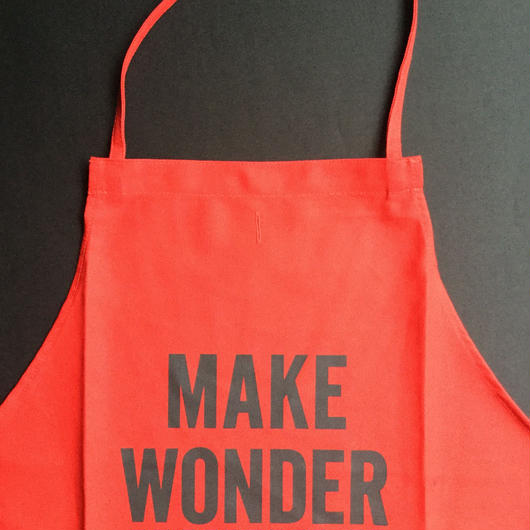 "🔴[新色] DRESSSEN DR(RED) 5""MAKE WONDER ""APRON  2018年 9月29日 新発売!"