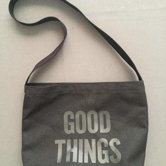 "DRESSSEN  SHOULDER BAG DBC4 ""GOOD THINGS "" BLACK COLOR ⭕️2018年4月新発売!"