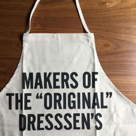 """⭕️限定発売DRESSSEN #67 MAKERS OF THE """"ORIGINAL"""" DRESSSEN'S APRON"""