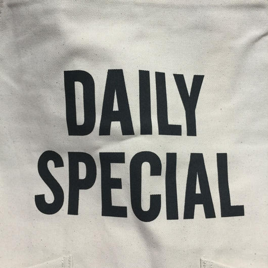 ⭕️[新発売]DRESSSEN ADULT APRON  #80 DAILY SPECIAL