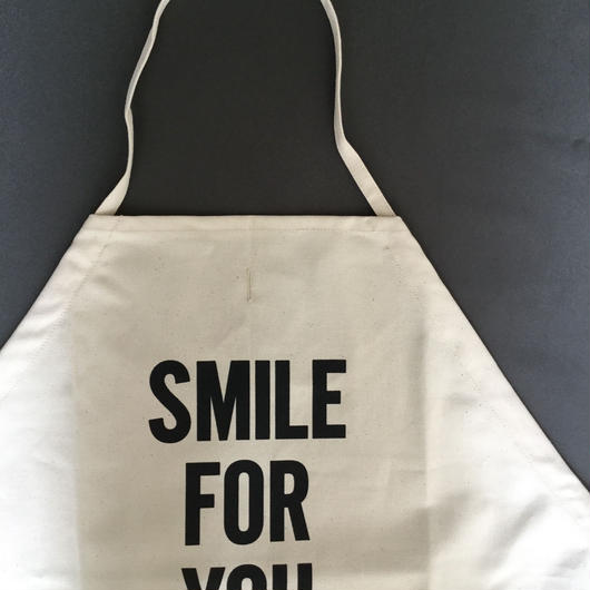 【新型】DRESSSEN  DS6  D→SLIDE  APRON  SMILE  FOR YOU