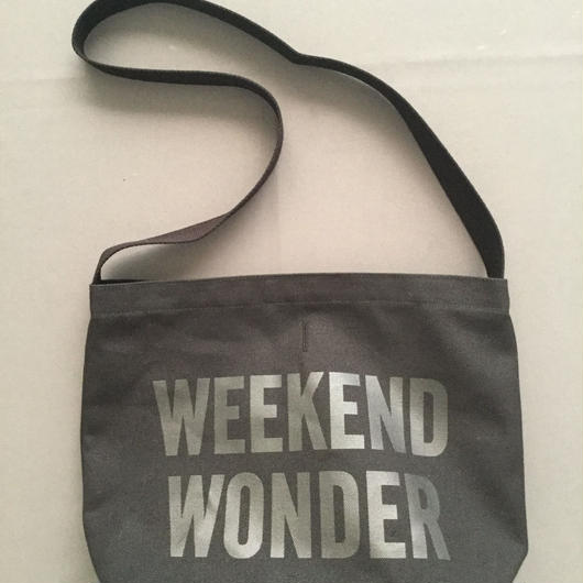 "DRESSSEN  SHOULDER BAG DBC5""WEEKEND WONDER"" BLACK COLOR ⭕️2018年4月新発売!"