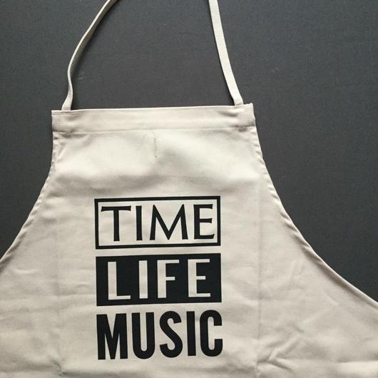 DRESSSEN ADULT APRON  #68 TIME LIFE MUSIC