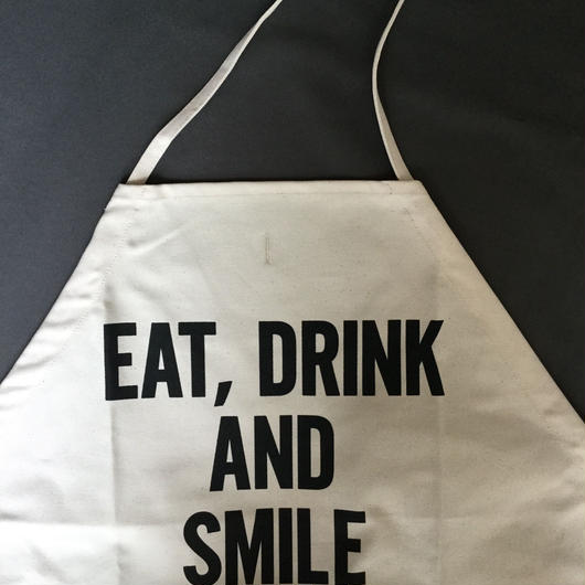 【新型】DRESSSEN  DS17 D→SLIDE  APRON  EAT,DRINK AND SMILE