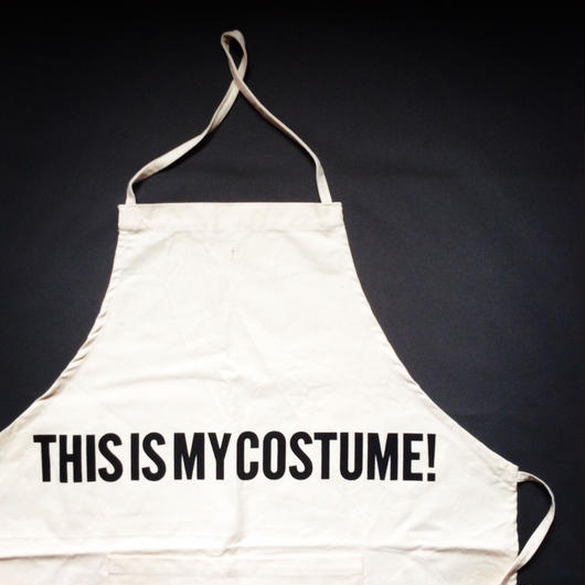 DRESSSEN ADULT APRON #36 THIS IS MY COSTUME!
