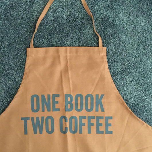 DRESSSEN DR ONE BOOK TWO COFFEE APRON