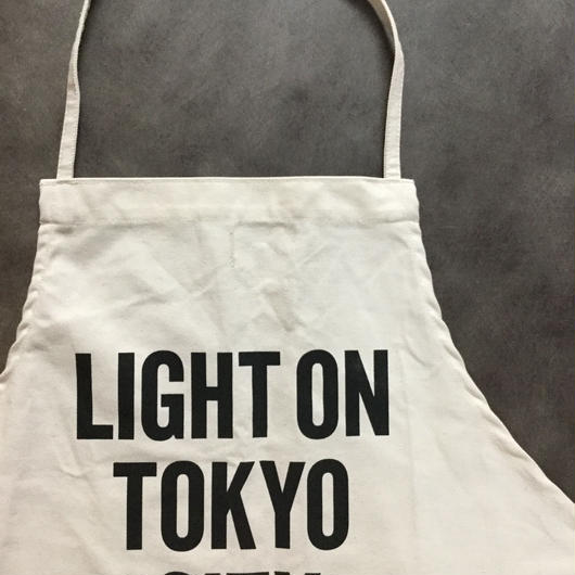 DRESSSEN ADULT APRON #56 LIGHT ON TOKYO CITY