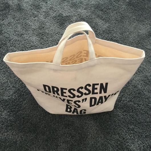 "DRESSSEN DTB1 DRESSSEN THE ""YES""DAY'S BAG ⭕️2月24日(土曜日)再入荷します。。今しばらくお待ちくださいませ。"