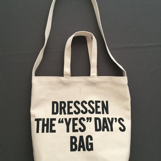 "DRESSSEN  DBSH1 TWO WAY BAG"" DRESSSEN THE""YES""DAYS BAG⭕️2018年4月新発売!"