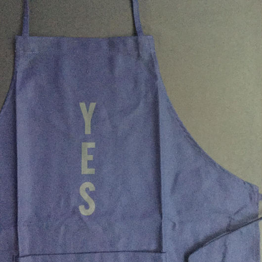 "⭕️[新発売]DRESSSEN DR(NAVY)16  APRON ""YES ""NAVY COLOR"