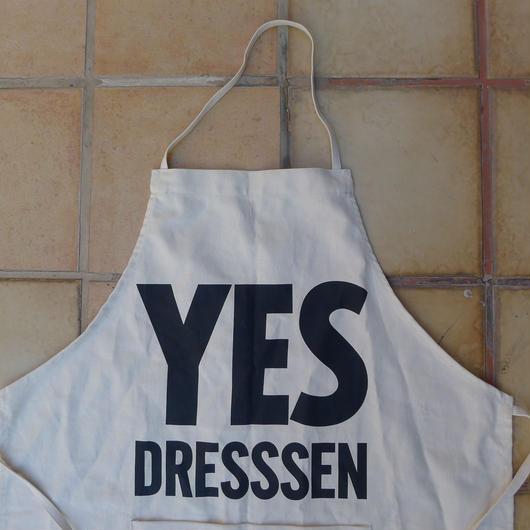 """DRESSSEN ADULT APRON #57  """"YES  DRESSSEN"""""""