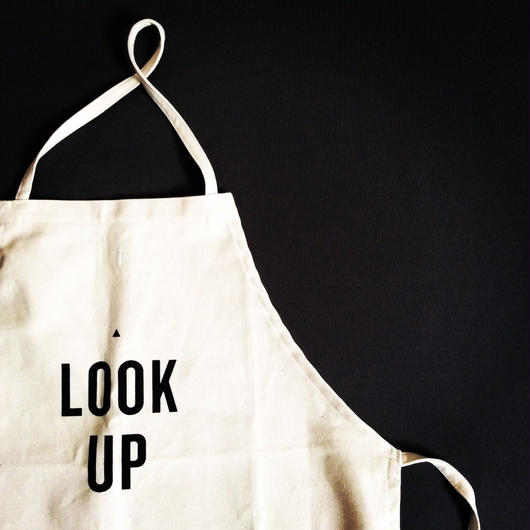 "DRESSSEN ADULT APRON  #11 ""LOOK UP"" 次回入荷未定です"