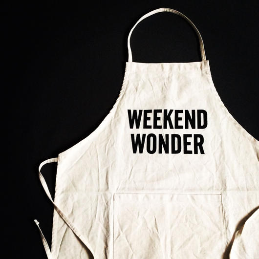 "DRESSSEN ADULT APRON #17 ""WEEKEND WONDER"""