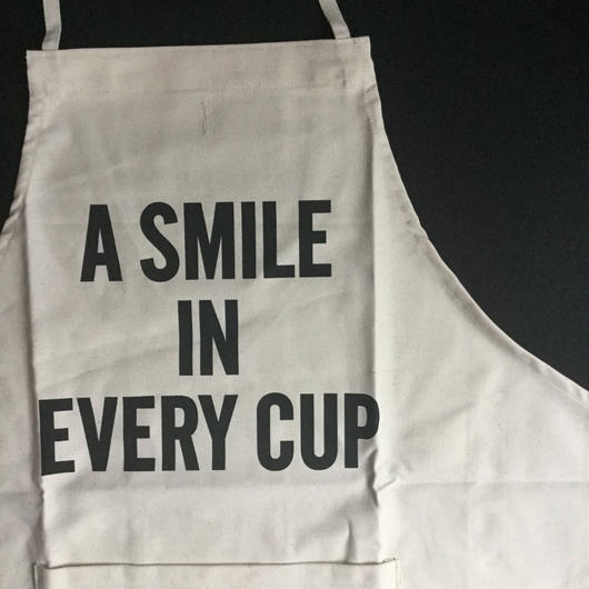 ⭕️[新発売]DRESSSEN ADULT APRON  #85 A SMILE IN EVERY CUP