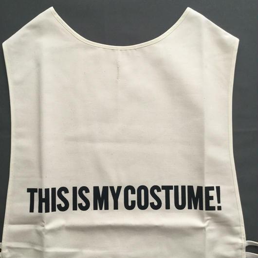 "DRESSSEN  F&B APRON FB5  ""THIS IS MY COSTUME"" ⭕️2018年4月新発売"