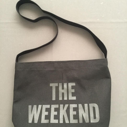 "DRESSSEN  SHOULDER BAG DBC3 "" THE WEEKEND""BLACK COLOR ⭕️2018年4月新発売!"